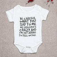 Unisex Newborn Clothes Baby Kids Short Sleeve Letter Printed Bodysuit Baby Boys Girls Cotton Jumpsuit Infant Clothing