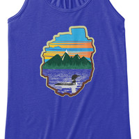 Women's Tank Hiking in Adirondacks