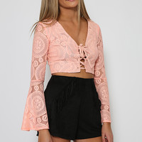 Money Penny Crop - Coral