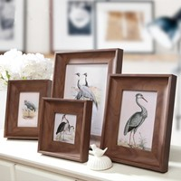 Europe Style Vintage Photo Frame Family,Wooden Picture Frame Wall Office Desk,Wedding Photo Frames,Classic Painting Frame Wood