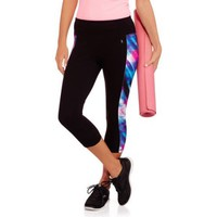 Danskin Now Women's Capri Tights with Side Inset - Walmart.com