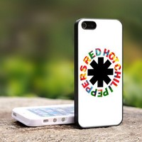 Red Hot Chili Peppers - Rock Band - For iPhone 4,4S Black Case Cover