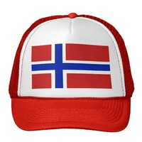 Norway Scandinavia Trucker Hat