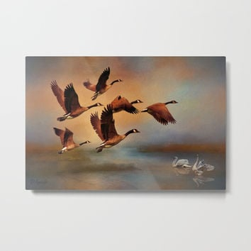All Things Bright And Beautiful Metal Print by Theresa Campbell D'August Art