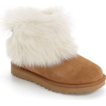 DCCK8X2 UGG? 'Valentina' Genuine Shearling Cuff Boot (Women) | Nordstrom
