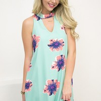 Retro Mint Dress