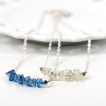 Rock Candy Bar Pendant Necklace Carnival Collection