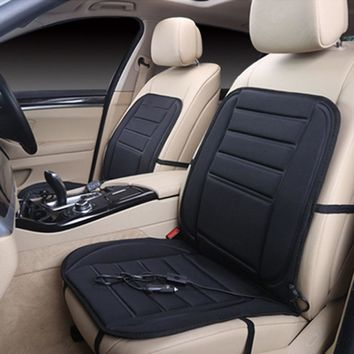 Universal Seat Cover auto heated pad car heating pad winter thermal interface 12v Car heating seat cover ing P2#