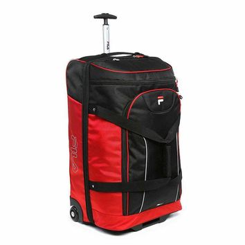 FILA Luggage, Expedition 30-in. Wheeled Drop-Bottom Duffel Bag