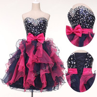 Grace Karin Sexy Women Formal Prom Tutu Gown Cocktail Short Princess Party Evening Dresses = 1932006852
