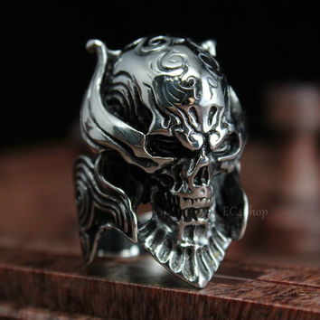 Punk Stainless Steel Party Cocktail Ring For Men 0517139