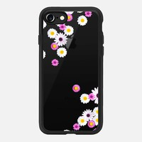 FLOWER RAIN Crystal Clear iPhone Case iPhone 7 Hülle by Monika Strigel | Casetify