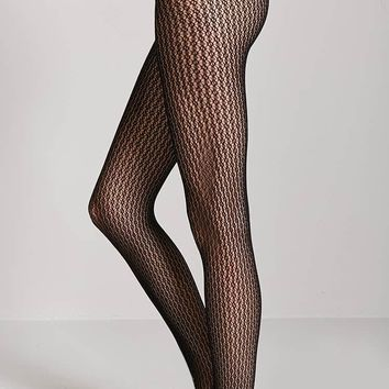 French Lace Fishnet Tights