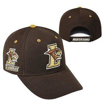 Licensed Lehigh Mountain Hawks NCAA Adjustable Triple Threat Hat Cap Top of the World KO_19_1