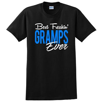 Best freakin gramps ever father's day birthday Christmas grandparents day grandpa T Shirt