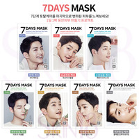 FORENCOS 7 Days Mask (MON to SUN) - 7 masks in one box
