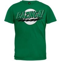 Big Bang Theory - Bazinga Green T-Shirt