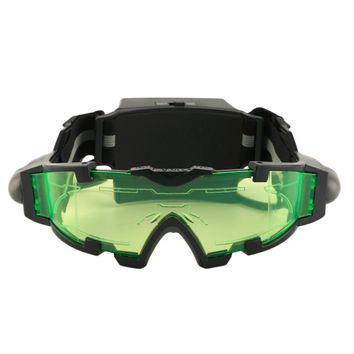 2017 New Arrivals Adjustable LED Night Vision Goggles With Flip-Out Lights Eye Lens Glasses Hot Selling