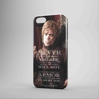 Tryion Lannister Quote Game Of Thrones iPhone Case Galaxy Case 3D Case