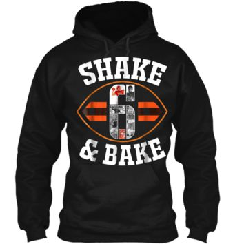 Cleveland Shake & Bake Mayfield  funny  Pullover Hoodie 8 oz