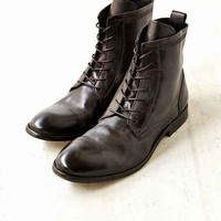 H By Hudson Swathmore Leather Boot- Black