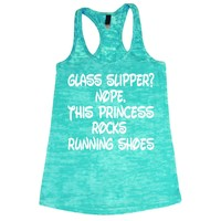 This Princess rocks Running Burnout Tank Top