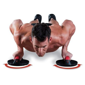Power Training Rolling Pushups Stands Gym Exercise Chest Arm Body Building Fitness Equipment Tools