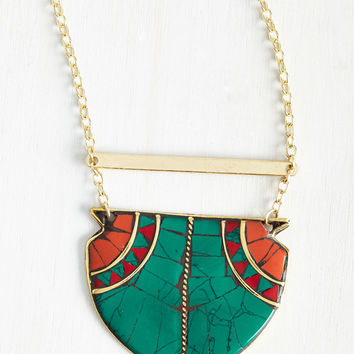 Network Your Angle Necklace | Mod Retro Vintage Necklaces | ModCloth.com