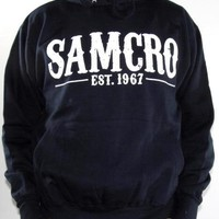 Sons Of Anarchy Pullover Hoodie - Samcro 1967 Navy