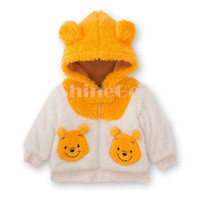 5 Pcs/lot + New Unisex Infant Toddler Cotton Blended Thicken Cartoon long sleeve Hoodies Sweatshirt Coat Clothing For Spring/Autumn/Winter