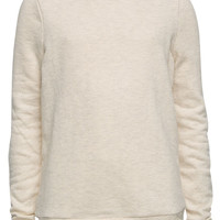 Full Tilt Lace Back Girls Sweatshirt Oatmeal  In Sizes