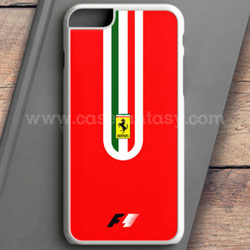 Fernando Alonso F1 Ferrari Scuderia Team iPhone 6 Plus Case | casefantasy