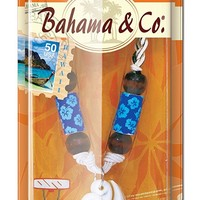 Bahama & Co. by Refresh Your Car! Bone Hook Necklace, Oahu Island Splash