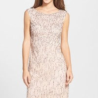 Women's Adrianna Papell Beaded Sheath Dress