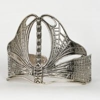 Dragonfly Cuff Bracelet | Art Nouveau Jewelry | Thrifted & Modern
