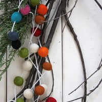 Merriment Garland, Multi-Colored