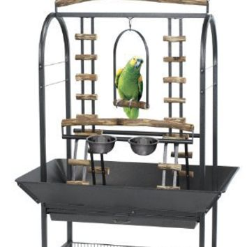 Kaytee EZ Care Activity Center Playground for Medium and Large Birds