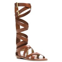 Darby Mid-Calf Leather Sandal | Michael Kors