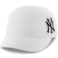 New York Yankees Women's Facet Military Adjustable Cap by '47 Brand - MLB.com Shop