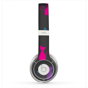 The Color Vector Cats Skin for the Beats by Dre Solo 2 Headphones