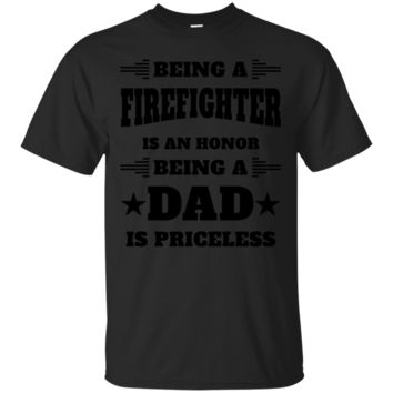 New                        BEING A FIREFIGHTER IS AN HONOR - DAD - Men's Premium T-Shirt