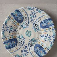Swirled Symmetry Side Plate by Anthropologie in Blue Motif Size: Side Plate Dinnerware