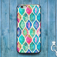 iPhone 4 4s 5 5s 5c 6 6s plus iPod Touch 4th 5th 6th Generation Cute Colorful Artistic Leaf Blue Green Pink Purple Pattern Phone Cover Case