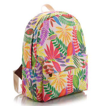 Canvas Cute Korean Lovely Backpack = 4888025668