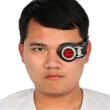 Deadshot Electronic Eye Patch Masks Cosplay Sight Light Up Custom Made