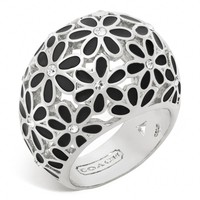 Coach :: Flower Domed Ring
