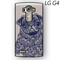 pug mandala for phone case LG G3/G4