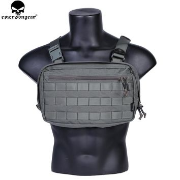 EMERSONGEAR Chest Recon Bag Tool Pouch Combat Tactical Vest Pouch Bag EDC Chest Bag Multicam FG EM9285