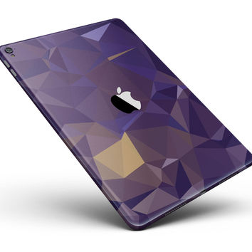 "Purple Geometric V12 Full Body Skin for the iPad Pro (12.9"" or 9.7"" available)"
