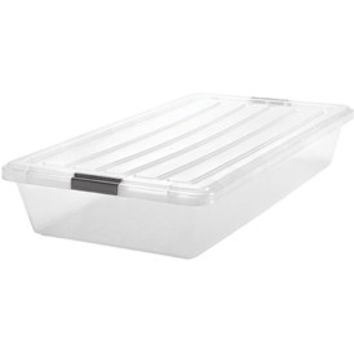 Iris Clear Underbed Storage Container